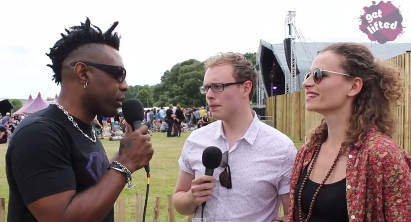 Omar interviewed at Love Supreme 2014